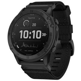 Garmin 010-02357-51 Tactix Delta Solar Smartwatch Ballistic Edition Black