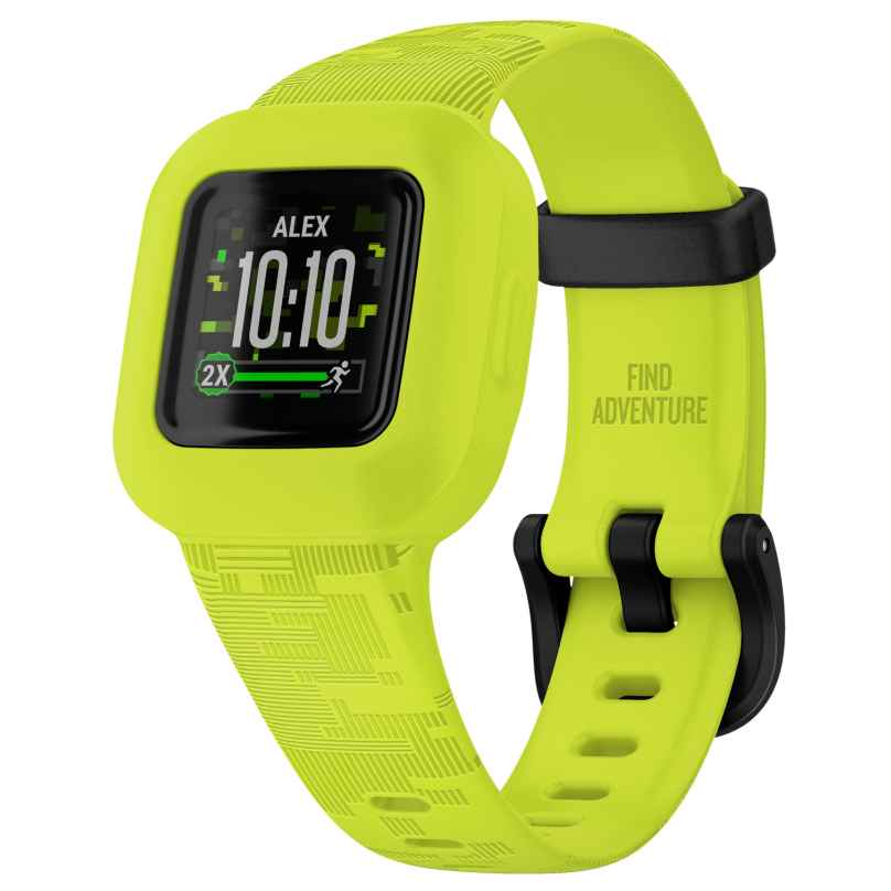 Garmin 010-02441-00 vivofit jr. 3 Action Watch Kinderuhr Digicamo Neongrün 0753759263546