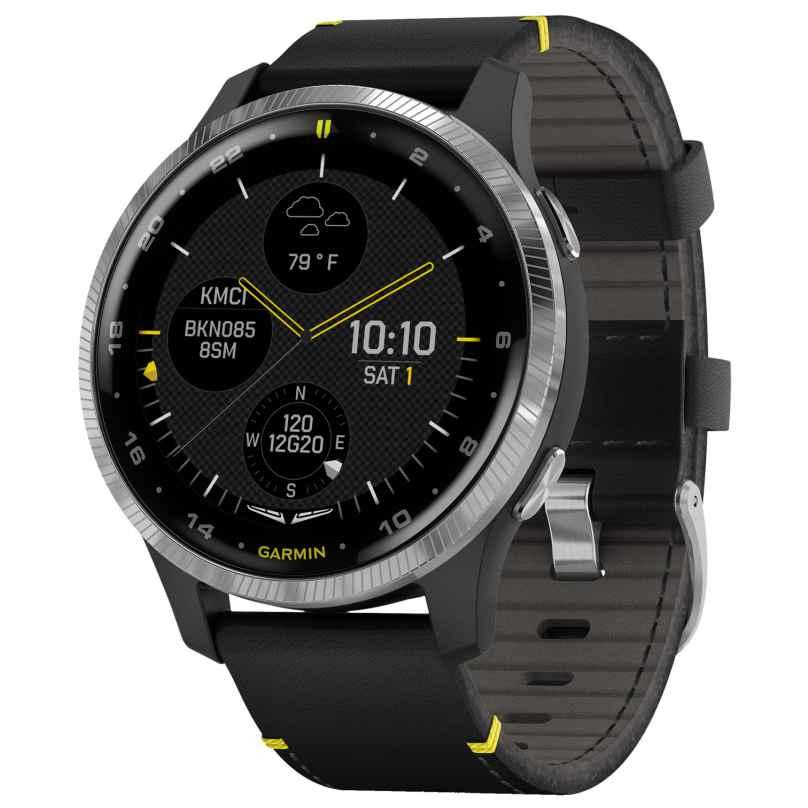 Garmin 010-02173-42 Pilot's Smartwatch D2 Air GPS 0753759253998