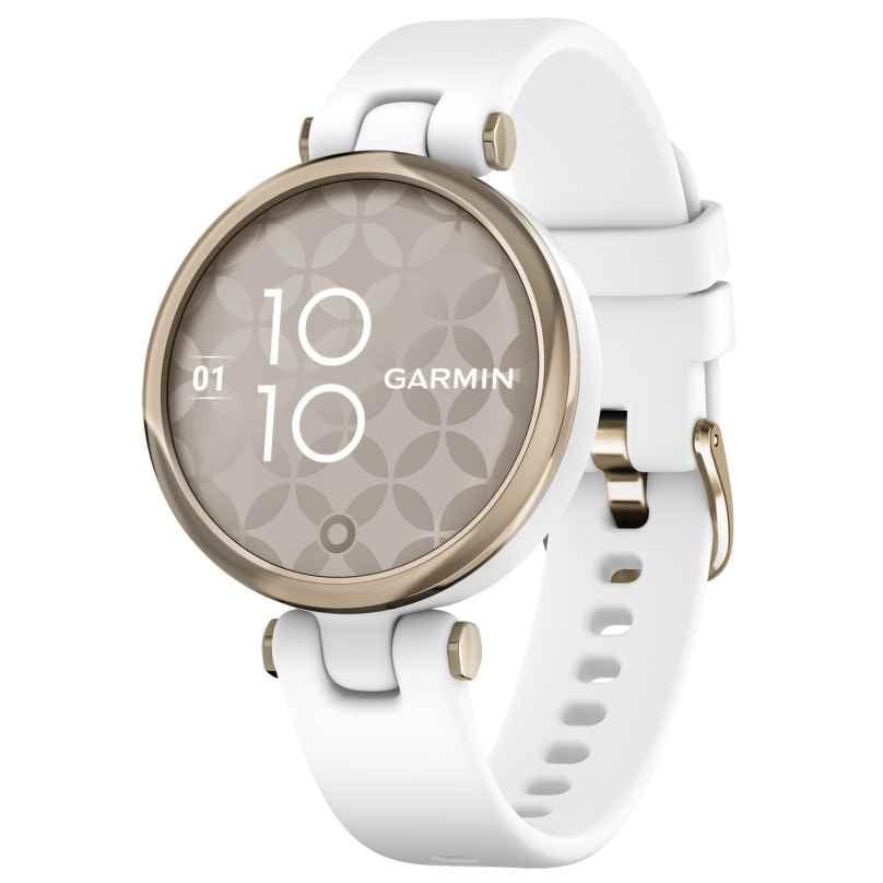 Garmin 010-02384-10 Lily Sport Damen-Smartwatch Weiß/Elfenbein 0753759266424