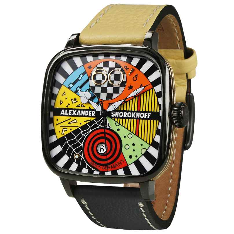 Alexander Shorokhoff AS.KD-AVG02 Armbanduhr Automatik Kandy Avantgarde 2 4260479161053