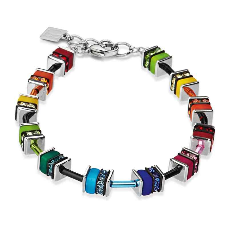 Coeur de Lion 4409/30-1500 Bracelet Geo Cube Multicolor 4250409654663
