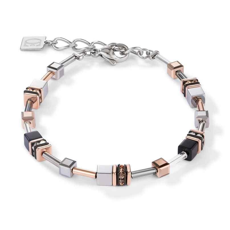 Coeur de Lion 5008/30-1631 Ladies Bracelet rose gold tone / silver 4251588311767