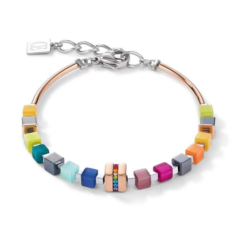 Coeur de Lion 5009/30-1500 Damen-Armband Edelstahl Multicolor 4251588311866
