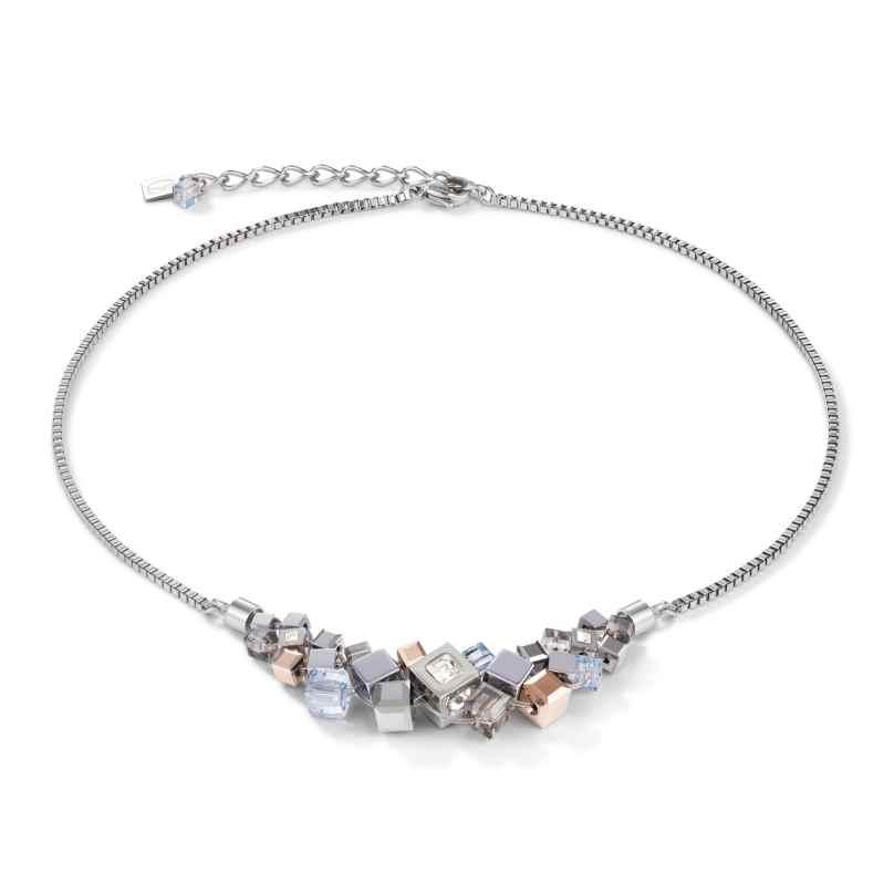 Coeur de Lion 5037/10-1723 Ladies' Necklace Stainless Steel silver / rose 4251588311439