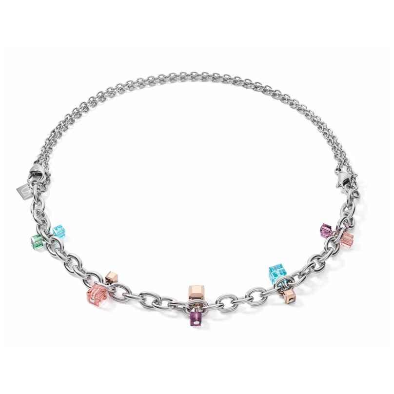 Coeur de Lion 5063/10-1578 Damen-Halskette Casual & Chunky Chain Art Nouveau 4251588318780