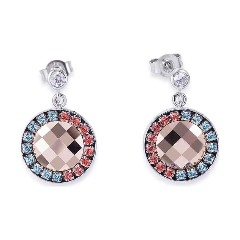 Coeur de Lion 4954/21-2003 Ladies' Earrings Aqua/Red 4251588301959