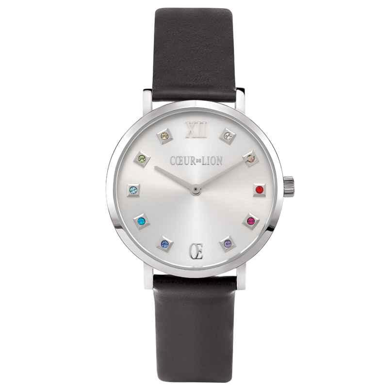 Coeur de Lion 7610/71-1224 Ladies' Watch Black/Multi-Coloured 4251588313792