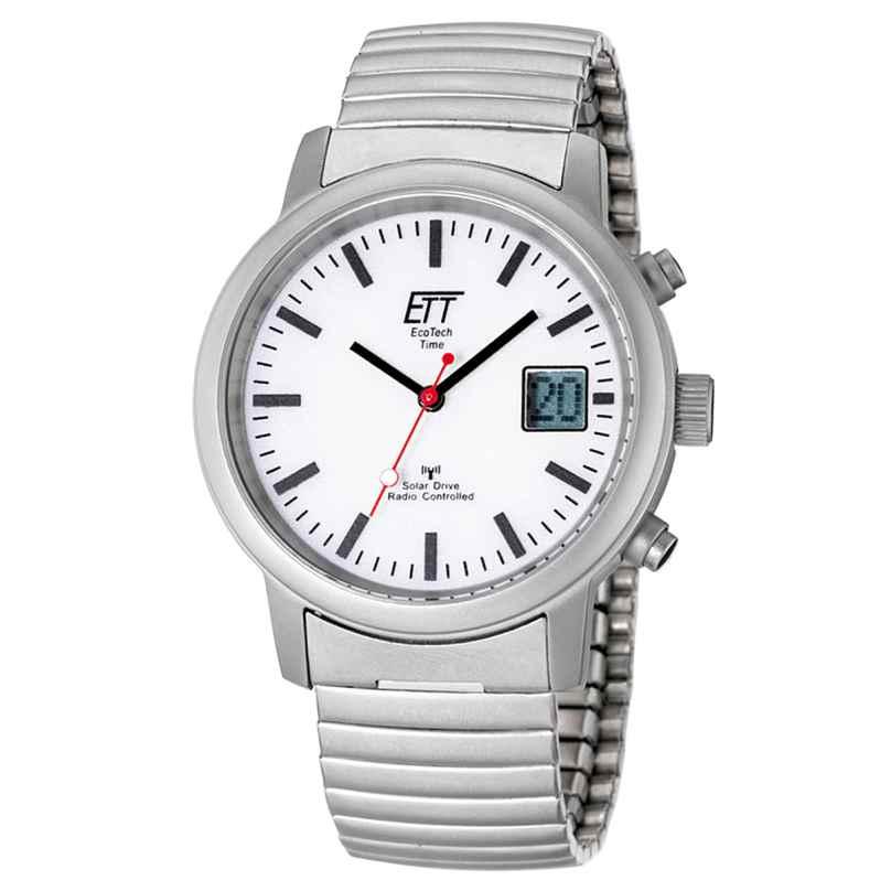 ETT Eco Tech Time EGS-11187-11M Solar Drive Funk Herren-Armbanduhr 4260091348313