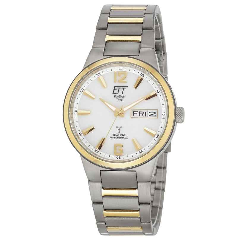 ETT Eco Tech Time EGT-11322-11M Solar Drive Funk Herren-Armbanduhr Everest II 4260411157281