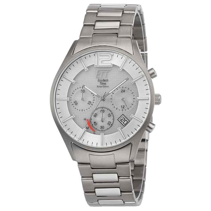 ETT Eco Tech Time EGT-12047-41M Men's Watch Solar Chronograph Titanium 4260503034612