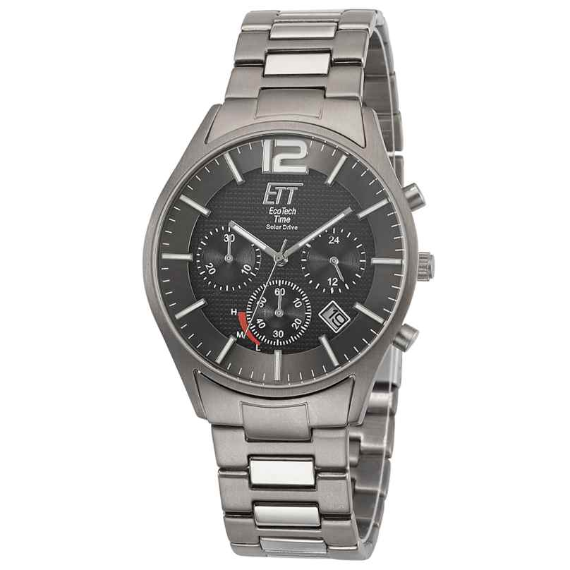 ETT Eco Tech Time EGT-12049-51M Herrenuhr Solar Chronograph Titan 4260503034643