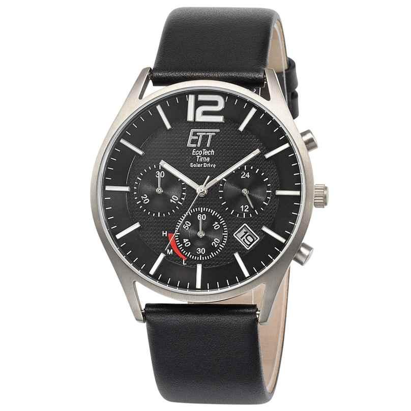 ETT Eco Tech Time EGT-12051-21L Herrenuhr Solar Chronograph Titan 4260503034667