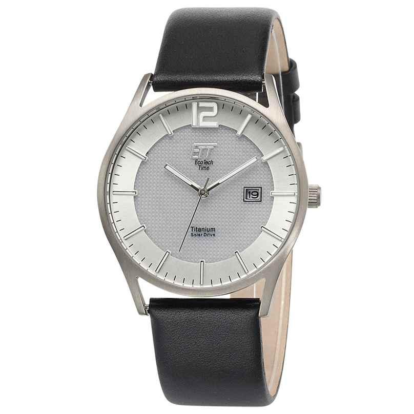 ETT Eco Tech Time EGT-12055-41L Men's Solar Watch Titanium 4260503034704