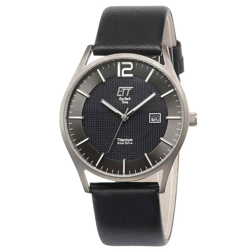 ETT Eco Tech Time EGT-12056-51L Herrenuhr Solar Titan 4260503034629