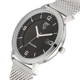 ETT Eco Tech Time EGS-12078-22M Herrenuhr Solar Drive Sahel