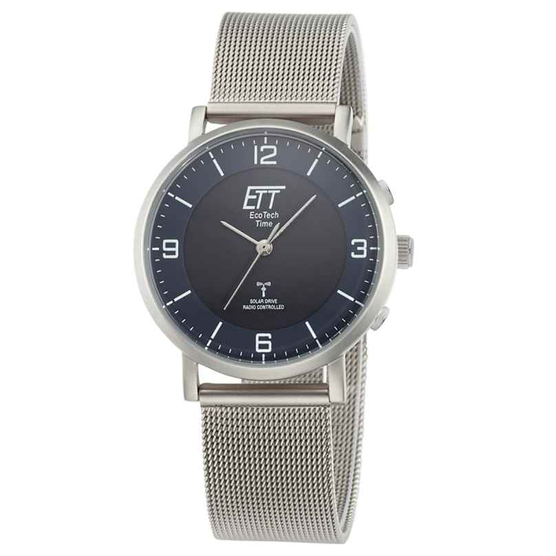 ETT Eco Tech Time ELS-11409-81M Radio-Controlled Solar Ladies' Watch Atacama Mesh Strap 4260503036890