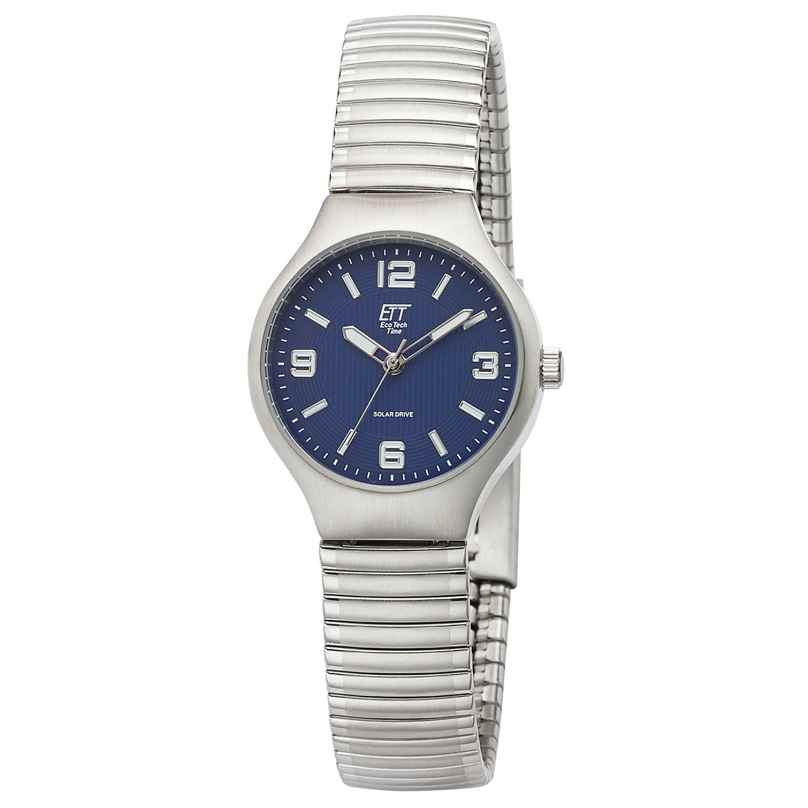 ETT Eco Tech Time ELS-12088-31M Solar Women's Watch Sonora with Elastic Bracelet Blue 4260503036425