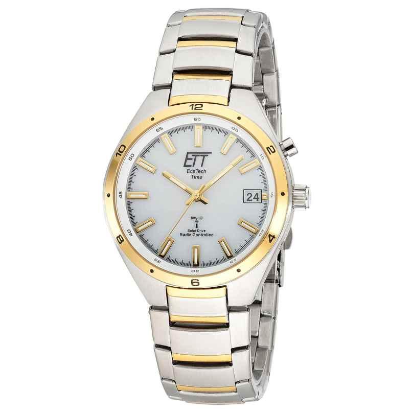 ETT Eco Tech Time EGS-11443-11M Solar Radio-Controlled Men's Watch Altai Two-Colour 4260503038597