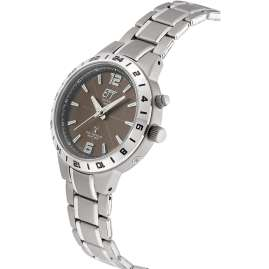 ETT Eco Tech Time ELT-11446-21M Solar Radio-Controlled Women's Watch Titanium