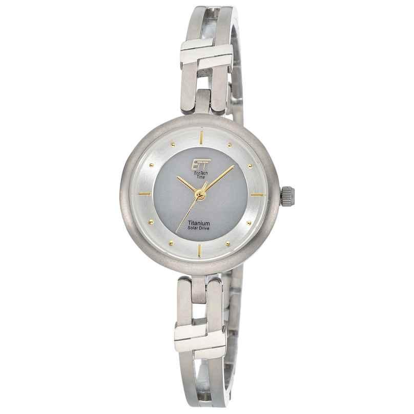ETT Eco Tech Time ELT-12114-45M Ladies' Watch Solar Namib Titanium 4260503038641