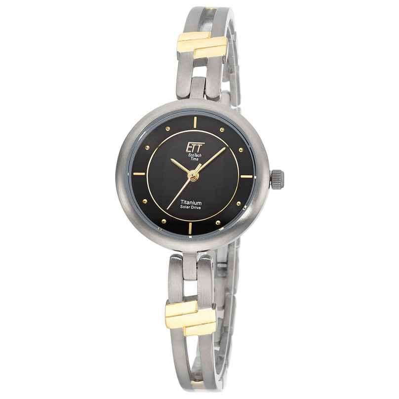 ETT Eco Tech Time ELT-12116-25M Solar Ladies' Watch Namib Titanium Two Tone 4260503038665
