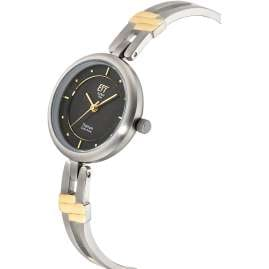 ETT Eco Tech Time ELT-12116-25M Solar Ladies' Watch Namib Titanium Two Tone