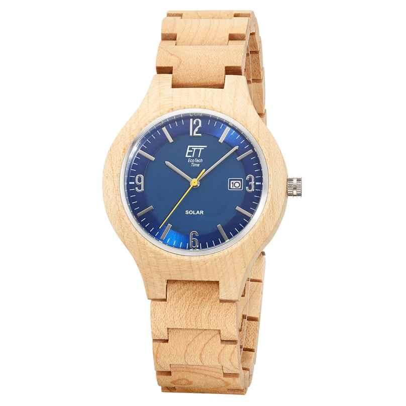 ETT Eco Tech Time EGW-12127-32SET Solar Men's Watch Osoyoos Wood 4260503039662