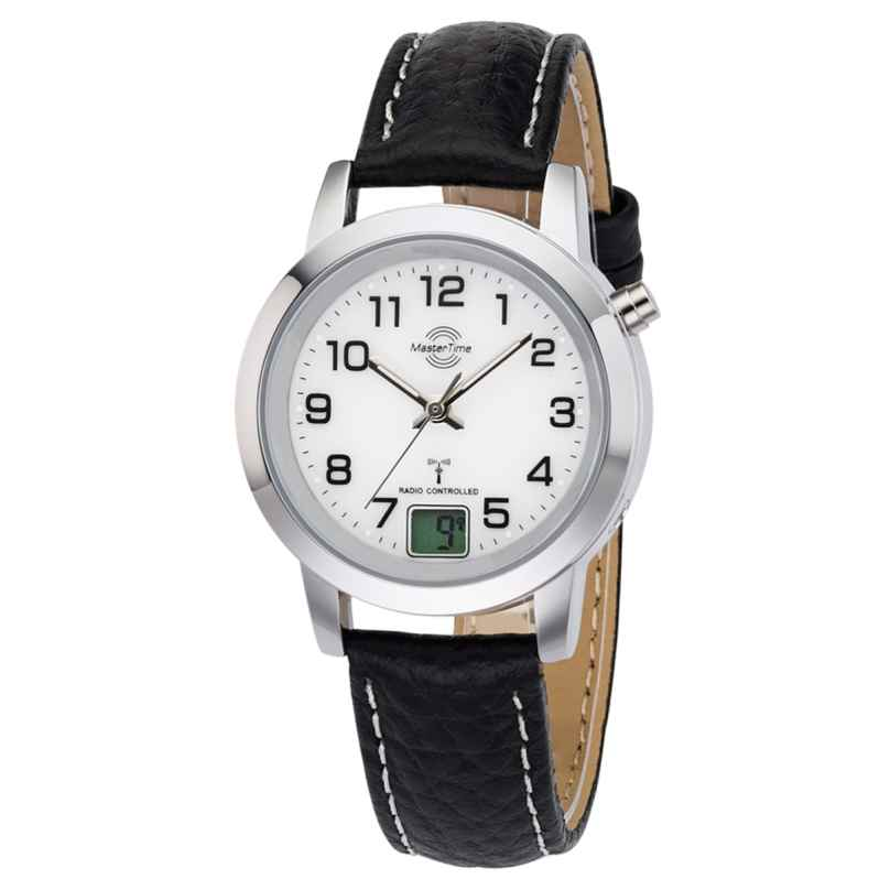 Master Time MTLA-10295-12L Ladies Radio-Controlled Watch Basic Classic 4260091353874