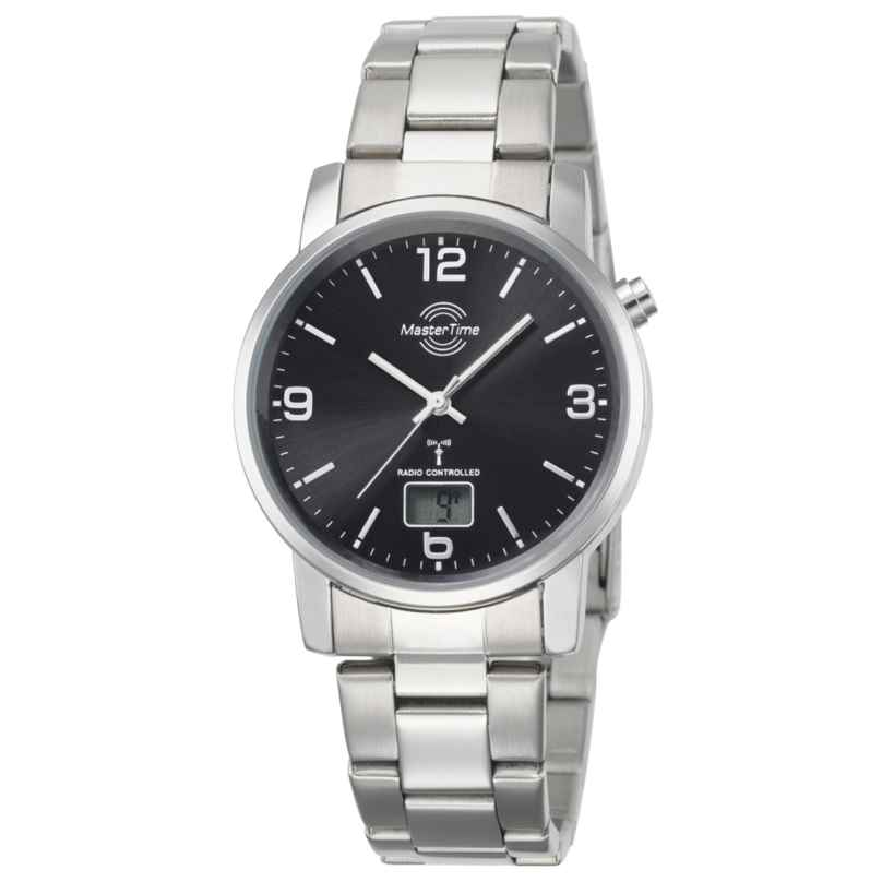 Master Time MTGA-10302-21M Herren-Funkuhr Basic Classic 4260411150084