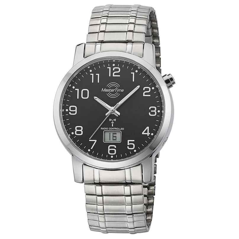 Master Time MTGA-10308-22M Herren-Funkuhr mit Zugband 4260091354000