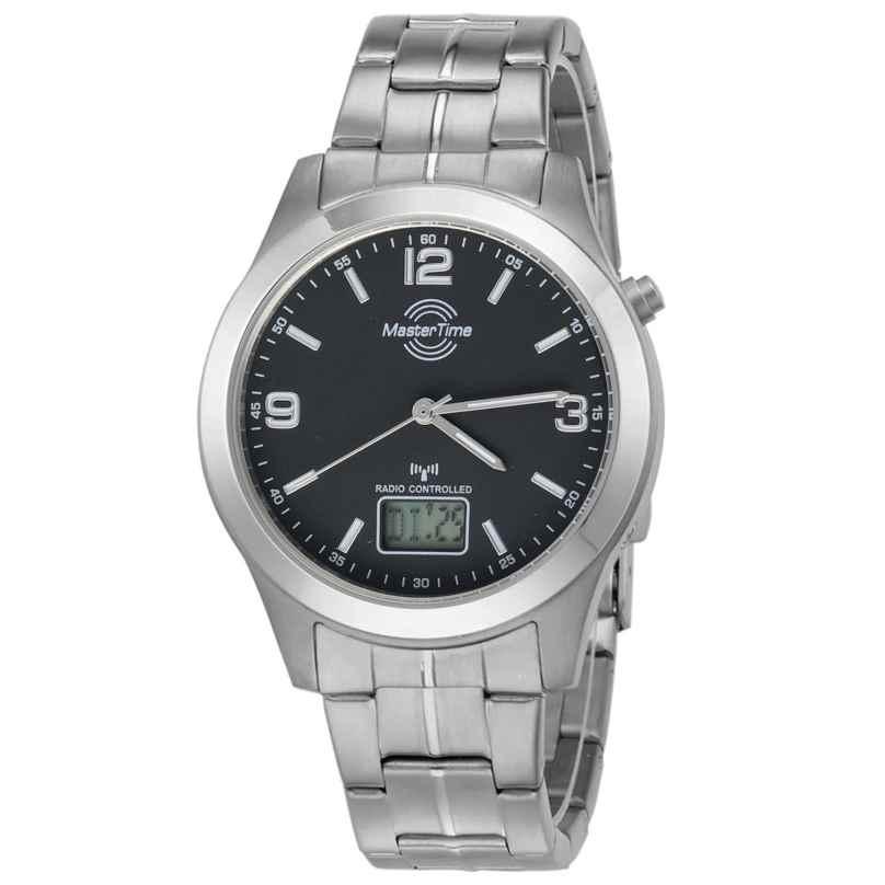Master Time MTGT-10349-22M Radio-Controlled Mens Watch Expert Titanium 4260091354482
