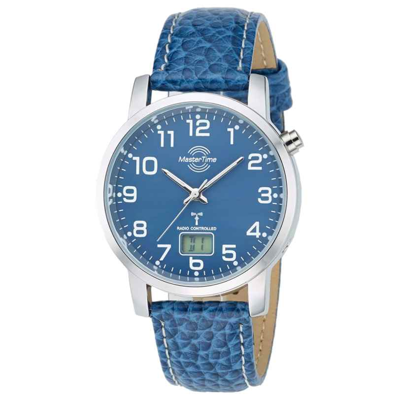 Master Time MTGA-10493-32L Herren-Funkuhr Basic Classic 4260411153368