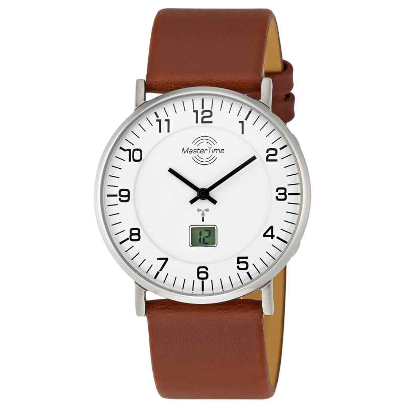 Master Time MTGS-10561-12L Herren-Funkuhr Advanced Slim 4260411158110
