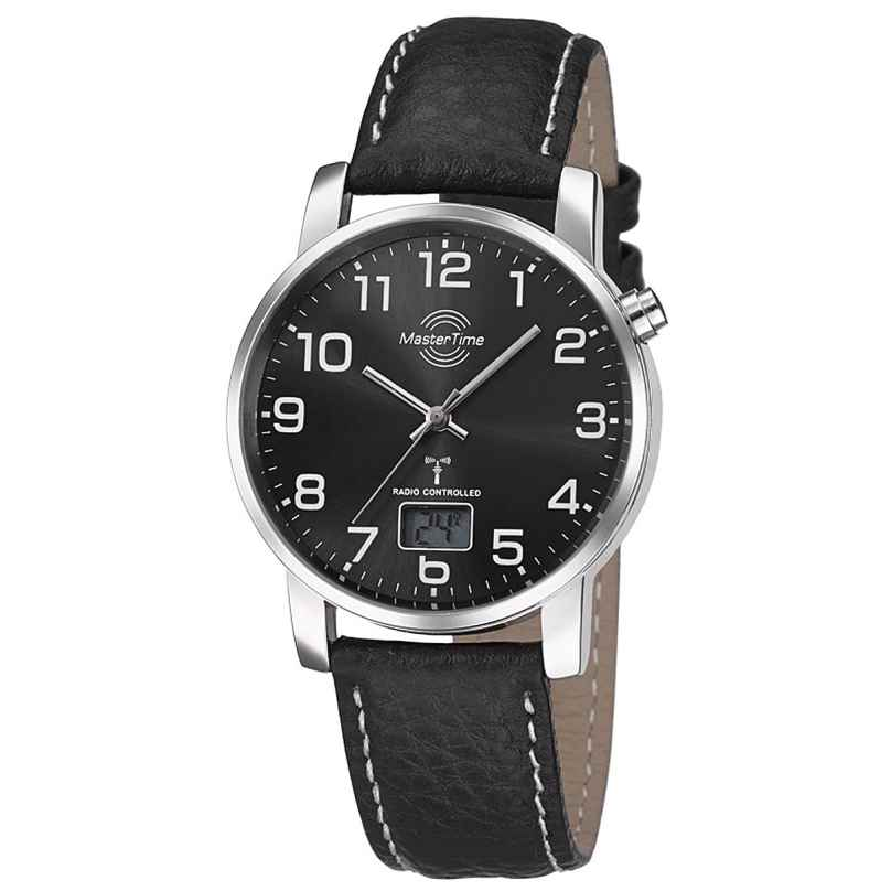 Master Time MTGA-10576-24L Mens Radio-Controlled Watch Basic Series 4260411159636