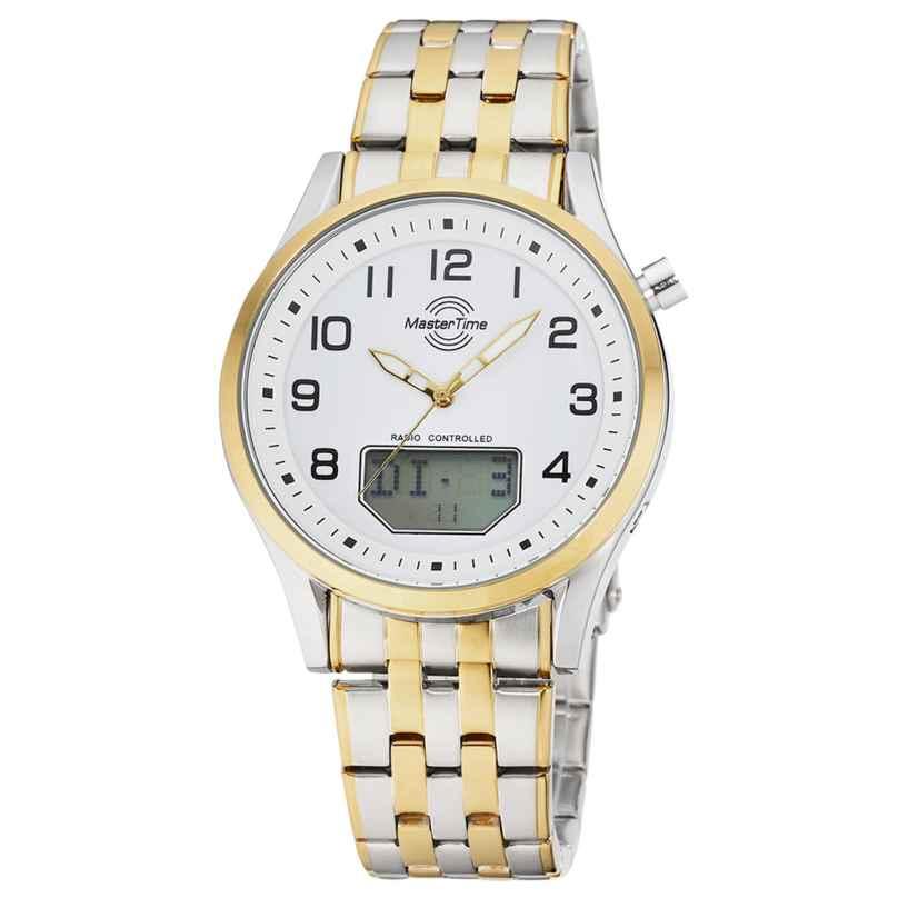 Master Time MTGA-10718-22M Herren-Funkuhr Specialist Big Date Bicolor 4260503038047