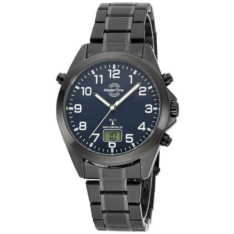 Master Time MTGA-10737-22M Radio-Controlled Watch for Men Specialist Black 4260503038566