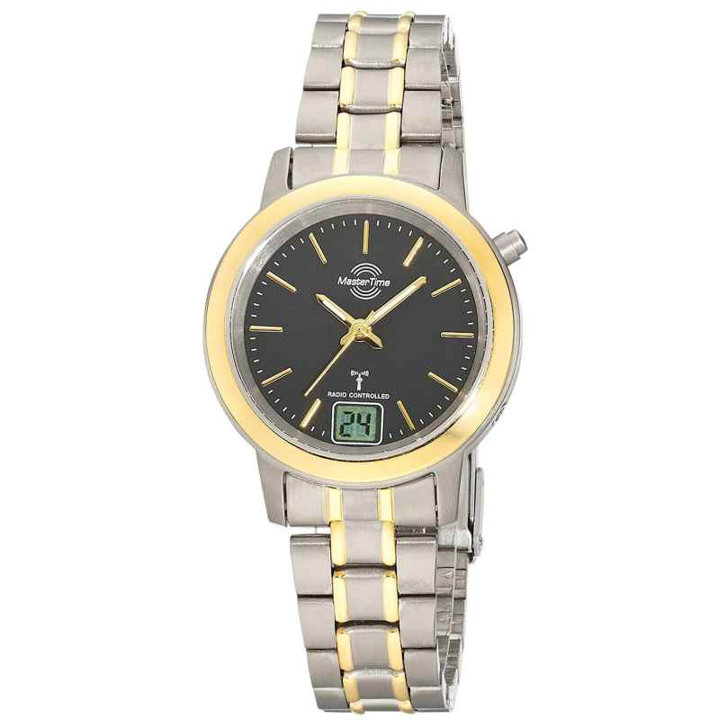 Master Time MTLT-10754-21M Funk-Armbanduhr für Damen Titan Bicolor 4260503039761