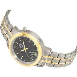 Master Time MTLT-10754-21M Funk-Armbanduhr für Damen Titan Bicolor