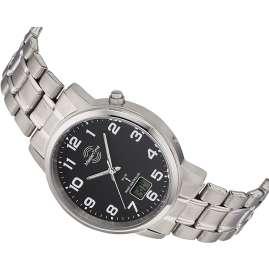 Master Time MTGT-10757-22M Herren-Funkuhr Titan Schwarz
