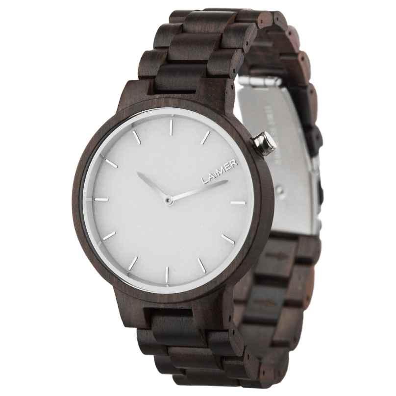Laimer 0069 Holz-Armbanduhr Marmo 4260498090099