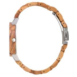 Laimer 0145 Wood Watch for Women Klarissa