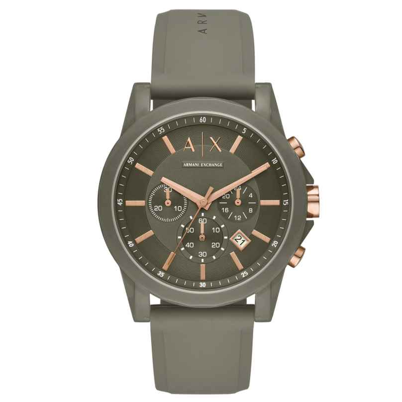 Armani Exchange AX1341 Herren-Armbanduhr Chronograph Outerbanks 4013496258349