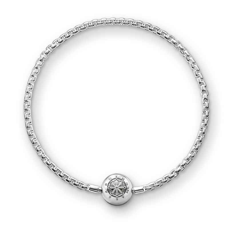 Thomas Sabo KA0001-001-12 Damen-Armband für Karma Beads 925 Silber