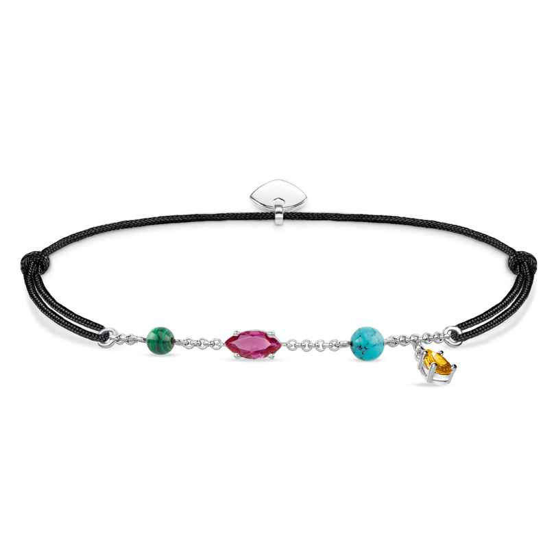 Thomas Sabo LS079-965-7-L20v Armband Little Secret Farbige Steine 4051245432589