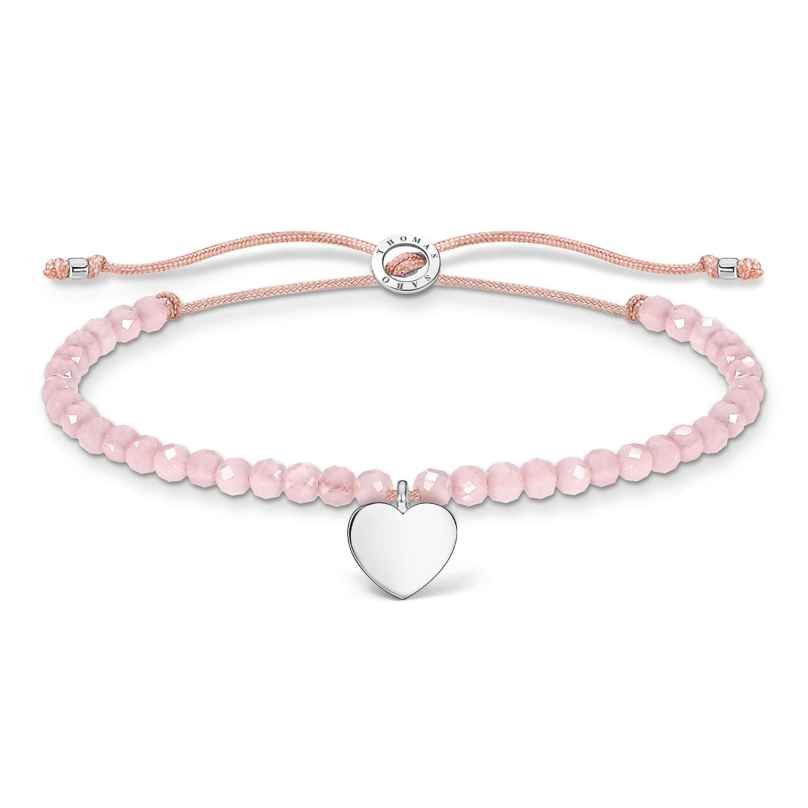 Thomas Sabo A1985-813-9-L20v Bracelet Rose with Heart 4051245487466