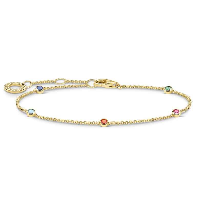 Thomas Sabo A1999-488-7-L19v Damen-Armband bunt 4051245487701