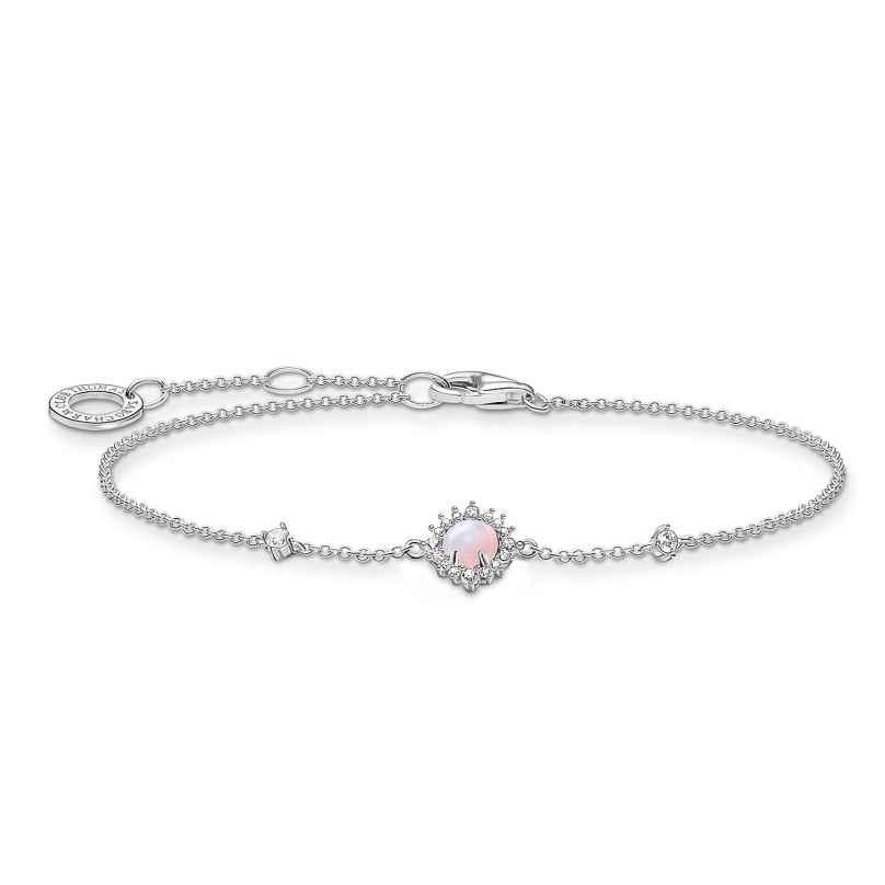 Thomas Sabo A2023-166-7-L19v Damen-Armband Vintage Opalfarbener Stein 4051245500172