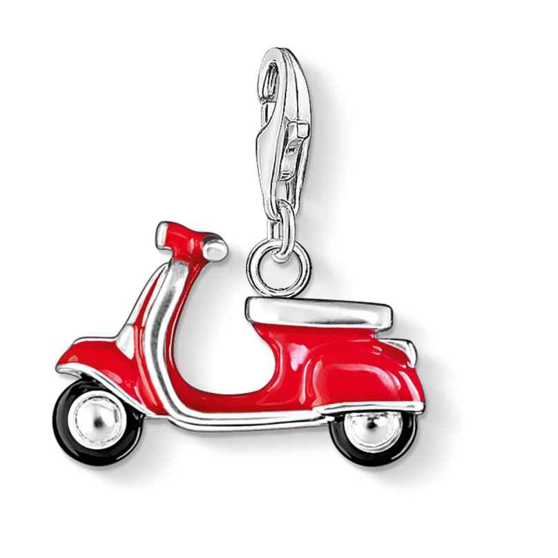 Thomas Sabo 0827-007-10 Charm-Anhänger Roter Roller 4051245049077