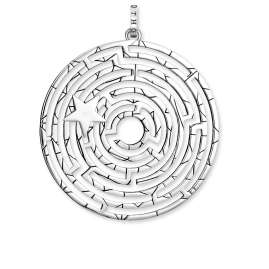 Thomas Sabo PE852-643-14 Pendant Amulet Labyrinth with Silver Star